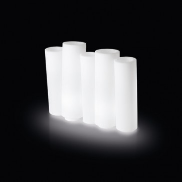 Maceta Bamboo Iluminada