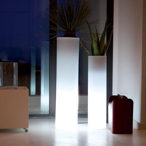 Macetero torre luz large - Macetas luminosas ...