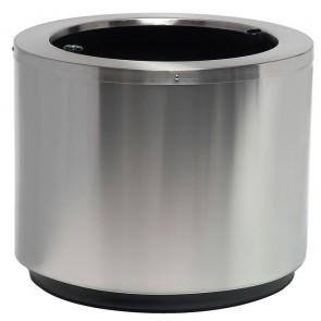 Maceta Steel Redonda