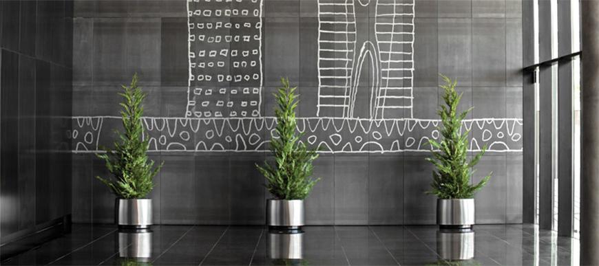 Macetas cuadrados exterior modernas porcelanicos casa dise o - Macetas exterior ...